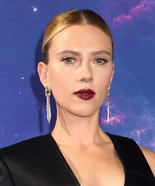 Scarlett Johansson Wore a Blazer with a Boob Cutout to the Avengers: Endgame Premiere