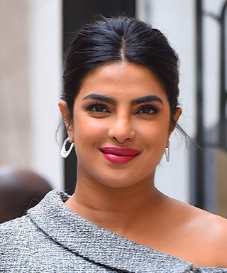 Priyanka Chopra Jonas Makes Her Tweed Suit Sexy With Naked Heels