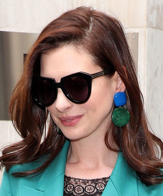 Anne Hathaway's Statement Earrings Are Only $95