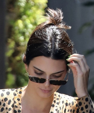 Kendall Jenner Just Wore the Shortest Mini Dress in the Middle of the Day
