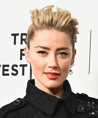 Amber Heard Just Wore the Wildest Naked Dress We've Seen on the Red Carpet