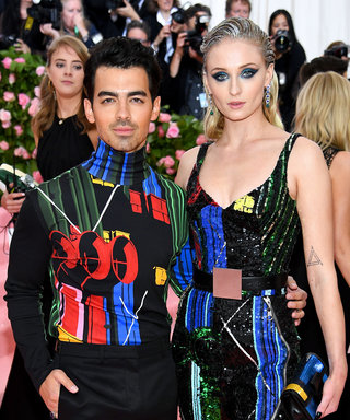 Sophie Turner Channeled a Sequined Superhero at This Year's Met Gala