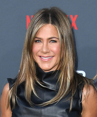 Jennifer Aniston Just Wore the Sexy Leather Dress We All Need in Our Closets