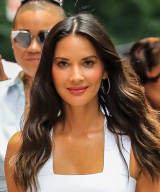 Olivia Munn Just Nailed an All-White Lookwith the Help of Comfy$75 Heels