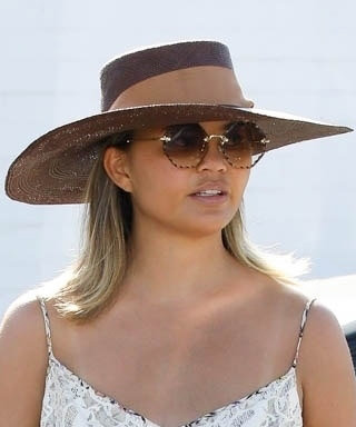 Chrissy Teigen Is Already Testing Out This Winning Fall Outfit Combo