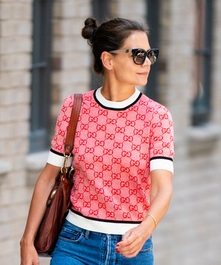 The One Pair of Sunglasses Katie Holmes Has Been Wearing All Summer