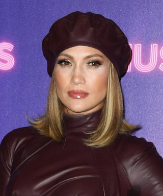 Jennifer Lopez Just Wore the Hottest Leather Dress While Promoting Her New Movie