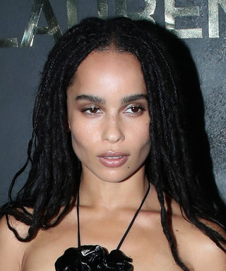 Zoë Kravitz Wore an Unbelievably Cool Naked Dress to a Fashion Show