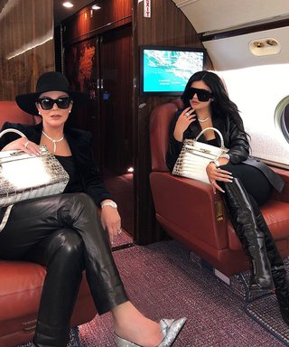Kris and Kylie Jenner's Matching Work Bags Are Actually Super Rare