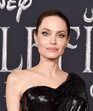 Angelina Jolie Just Wore a Scorpion Gown Made Out of Metal Mesh