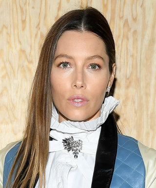 Jessica Biel Just Made a Rare Front-Row Appearance at the Louis Vuitton Fashion Show