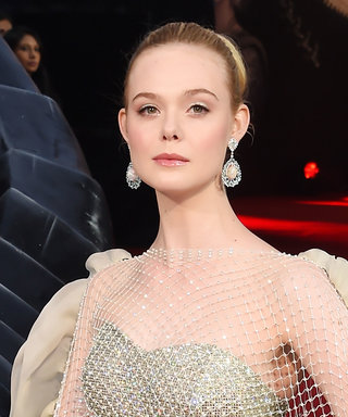 Elle Fanning Looks Like a Modern-Day Princess in This Seriously Dramatic Ballgown
