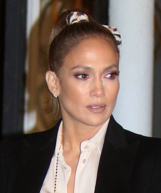 Jennifer Lopez Just Wore the Shortest Leather Hot Pants