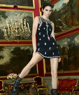 Kendall Jenner's Rocking Out on Top of a Speaker in the New H&M x Giambattista Valli Campaign