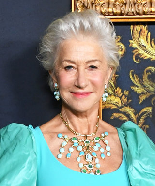 Helen Mirren Confirmed She's the Queen of the Red Carpet in This Dramatic Gown