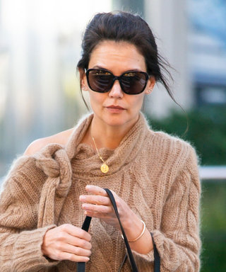 Katie Holmes'Fall Sweater Looks Super Simple — Until You Take a Closer Look