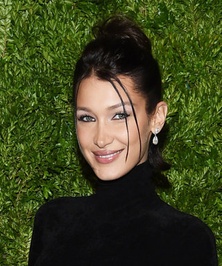 Bella Hadid Wore a Nipple-Pierced Catsuit on the Red Carpet