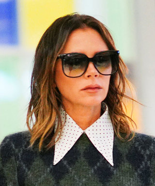 Victoria Beckham's Latest Outfit Is a Classic Lesson in Mixing Prints