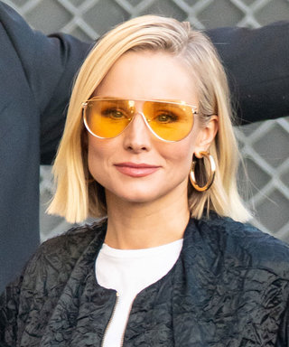 Kristen Bell Found a Clever Way to Make a Bomber Jacket Look Sexy