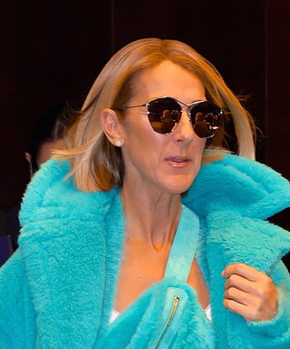 Celine Dion Just Wore the Boldest Winter Coat and Her Mini Skirt Matches