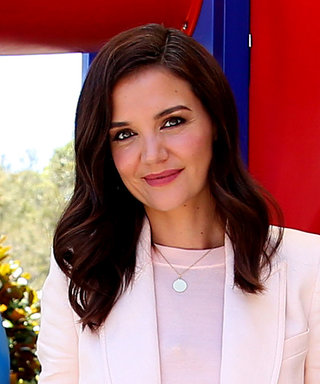 Katie Holmes Demonstrates a Fresh Way to Upgrade Boring Suits
