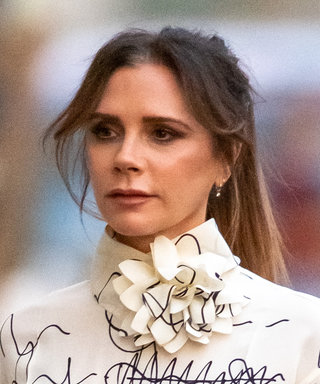 Victoria Beckham Just Wore an Outfit With Scribbles All Over It