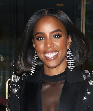 Kelly Rowland Just Wore a Wild Blazer Covered in Safety Pins