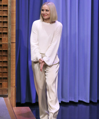 Kristen Bell Wears Alice + Olivia Classic Collection