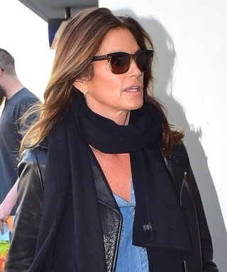 Cindy Crawford Shows Us Exactly How to Master Casually Cool Airport Style