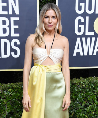 Sienna Miller's Golden Globes Dress Looks at Lot Like One J.Lo Wore Back in 1998