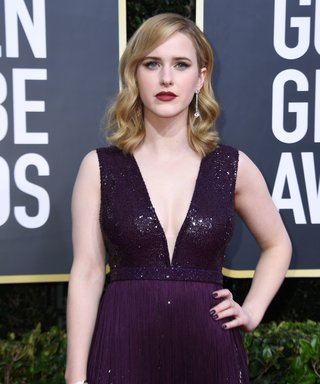 While You Were Staring at Rachel Brosnahan's Dress, You Missed the Best Part of Her Golden Globes Look