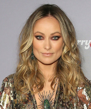 Olivia Wilde's Plunging Gown Almost Stole the Show Until We Saw Her Gorgeous Necklace