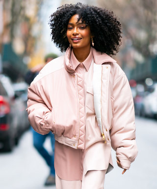 Yara Shahidi Just Wore the Pastel Puffer Coat on Every Fashion Girl's Wish List