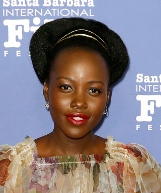 Lupita Nyong'o Just Wore the Prettiest Sheer Dress on the Red Carpet