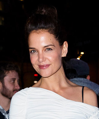 Katie Holmes's Outfit Looks Sweet and Simple — Until You See Her Shoes