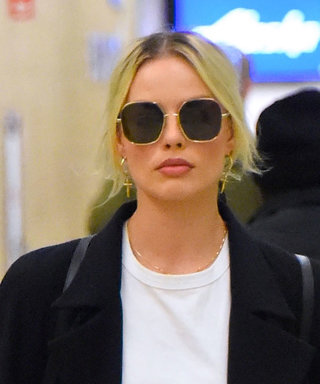 Thanks to Margot Robbie, We've Now Found the Perfect White T-Shirt