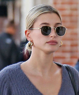 Hailey Bieber Pulled a Very J.Lo Style Move and Embraced This '90s Denim Trend