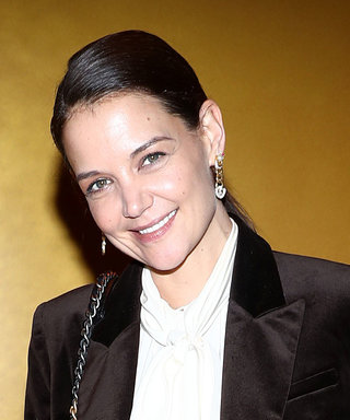 Katie Holmes Wore a Pair of Earrings That Kate Middleton Would Approve Of