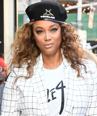 Tyra Banks Wore the Perfect Set for the Office While Also Promoting Her Supermodel-Themed Amusement Park