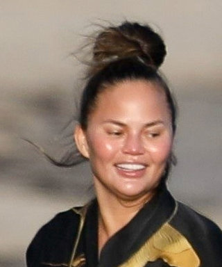 Chrissy Teigen Makes the Case for Wearing a Robe and Nothing Else