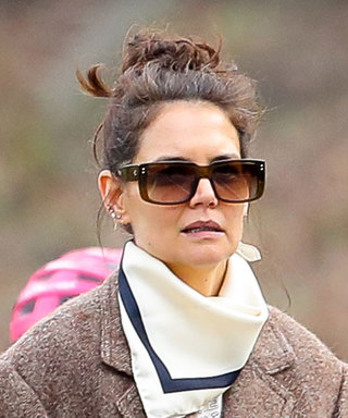 Katie Holmes Has Reworn These White Sneakers More Than Anything Else She Owns