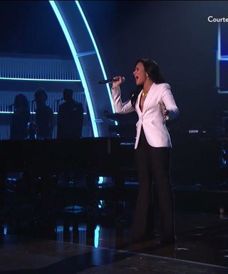 Demi Lovato Rocks Lionel Richie Tribute At The Grammys