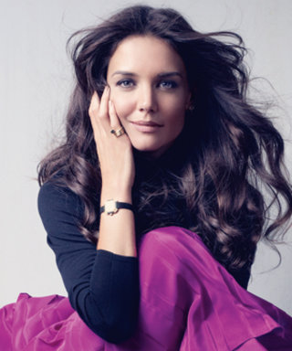 Katie Holmes's Cover Shoot
