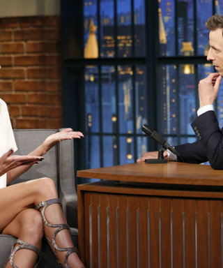 Late-Night Highlight: See The, Uh, Intimate Gift Heidi Klum Gave Seth Meyers