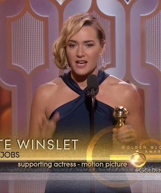 Kate Winslet Is Shocked by Her Golden Globes Win