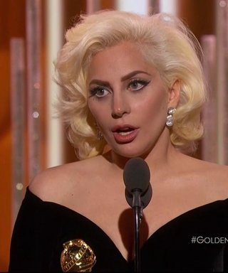Lady Gaga Wins Her First Golden Globe, Slays Her Acceptance Speech