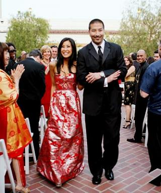 Celebrity Wedding: Lisa Ling & Paul Song