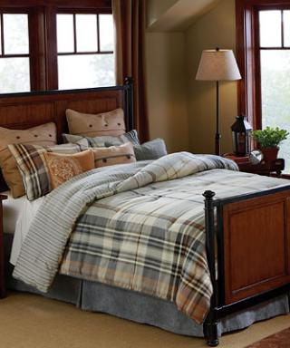 Pine Park Bedroom Sponsored by JCPenney