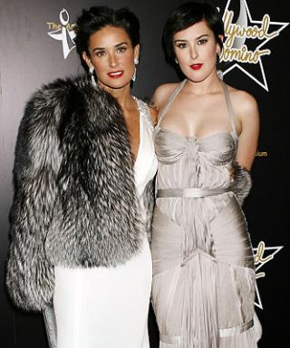 Miss Golden Globe Rumer Willis