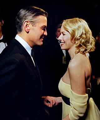 Backstage at the 2007 Academy Awards